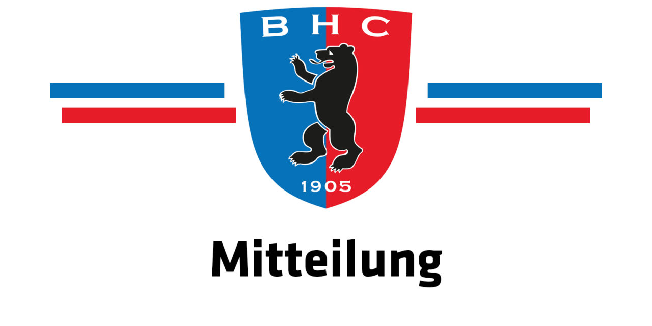 Offener Brief des Berliner Hockey-Clubs e.V. zur Corona-Krise