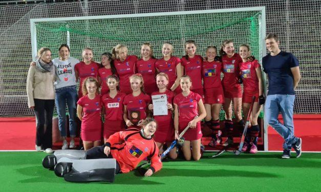 Weibliche Jugend A gewinnt die berliner Meisterschaft