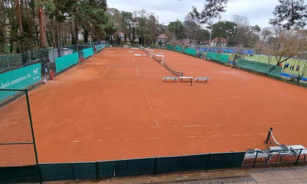 Informationen zur Nutzung der Tennisplätze