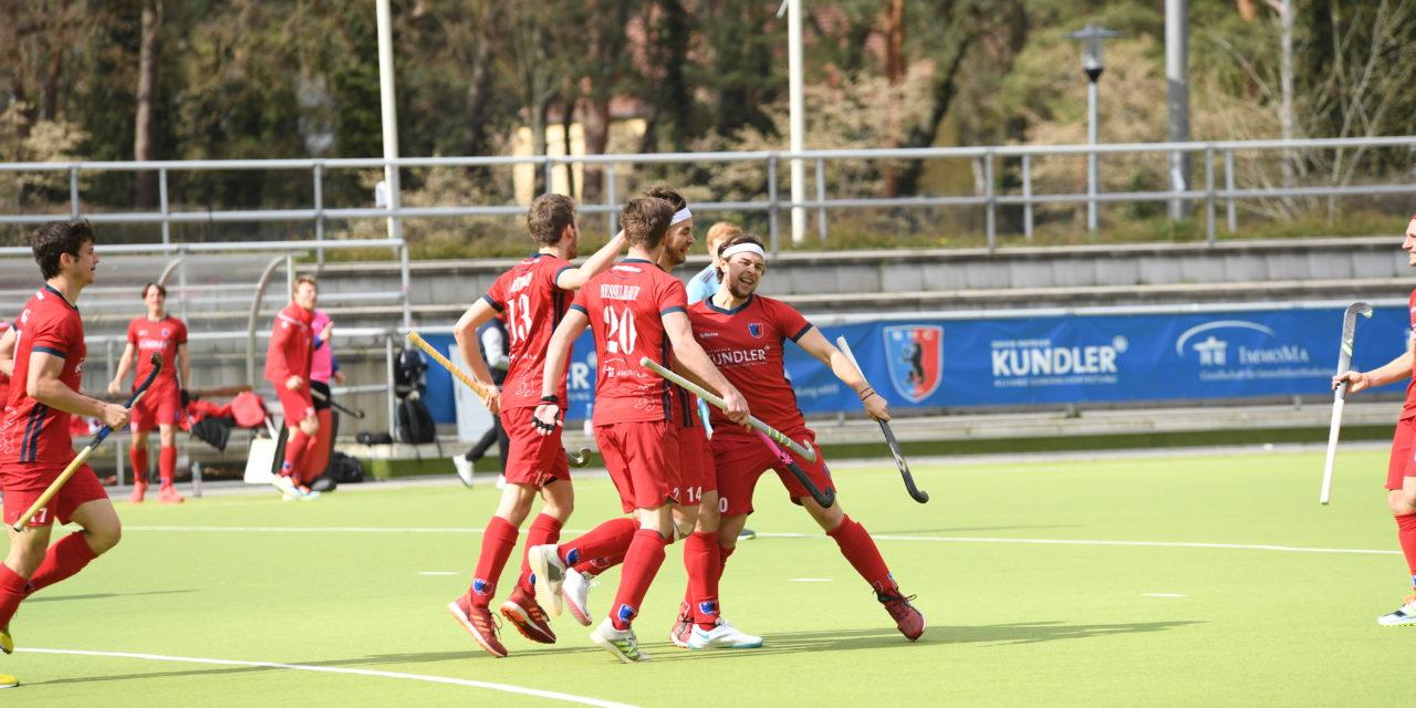 Herren besiegen den UHC mit 3:0 zum Viertelfinal-Auftakt