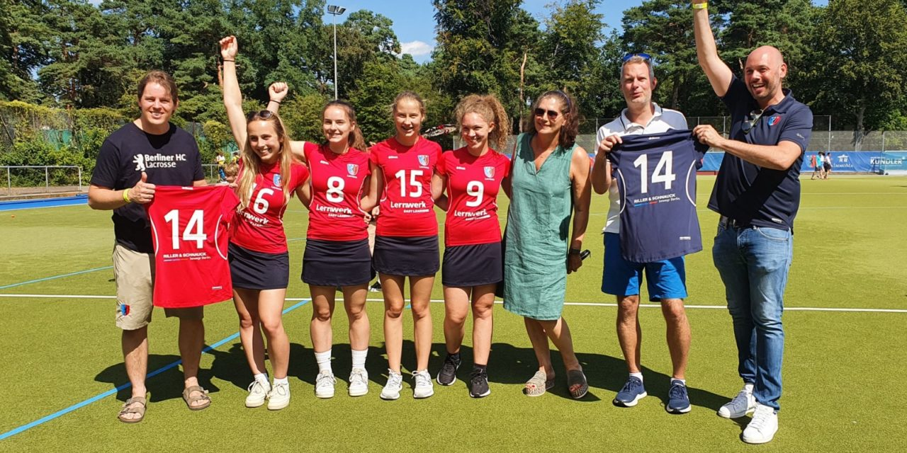 Lernwerk und Riller & Schnauck neue Jugend-Lacrosse-SPONSOREN