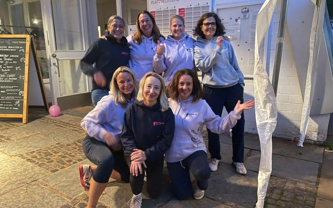 Damen 40 II besiegen TC Kleinmachnow und kämpfen um den Aufstieg