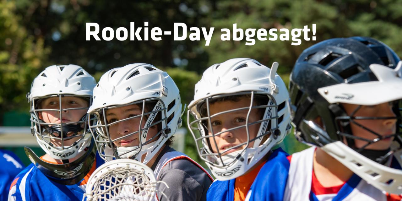 Lacrosse   Rookie-day abgesagt!