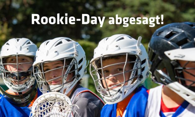 Lacrosse | Rookie-day abgesagt!