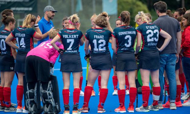 Damen unterliegen Meister Düsseldorf knapp mit 1:2