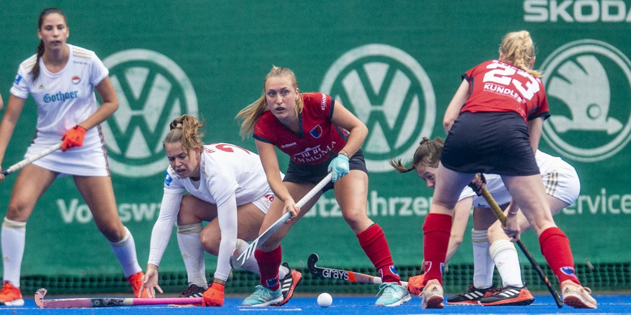 Damen gewinnen 2:1 bei Rot-Weiss Köln