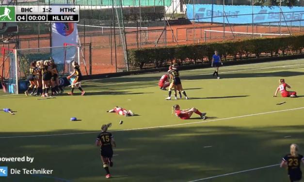 Weibliche U18 verliert DM-Endspiel gegen den HTHC mit 1:2